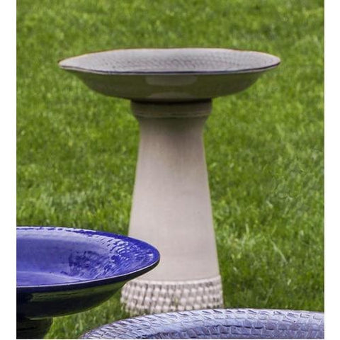Cream Tattersall Birdbath - Outdoor Art Pros