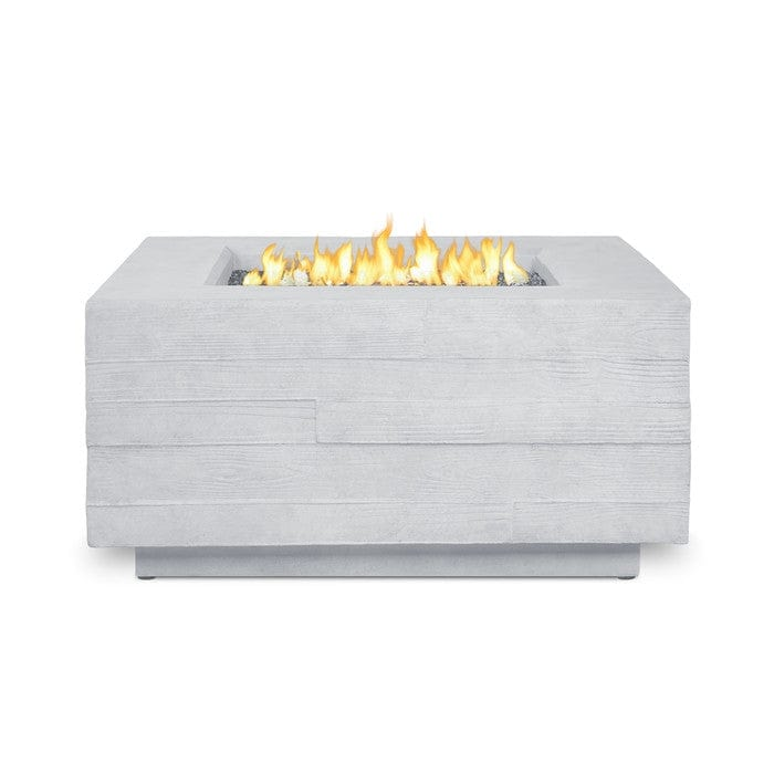 board form square propane fire table outdoor art pros - Propane Fire Table