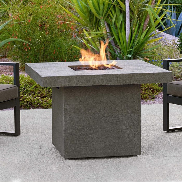 Ventura Square Outdoor Fireplace Propane Natural Gas Fire