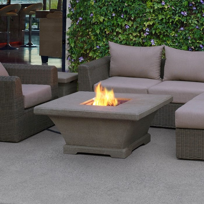 outdoor fireplace tables.  Monaco Low Outdoor Fireplace Square Propane Fire Table