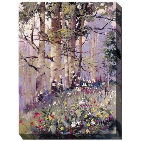 Aspen Spring Outdoor Canvas Art - Outdoor Art Pros