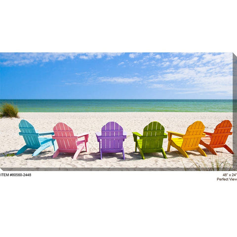 Perfect View Outdoor Canvas Art - Outdoor Art Pros