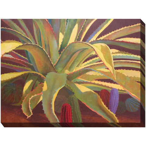Sundown Outdoor Canvas Art - Outdoor Art Pros