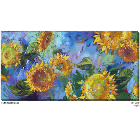 Joyful Outdoor Canvas Art - Outdoor Art Pros