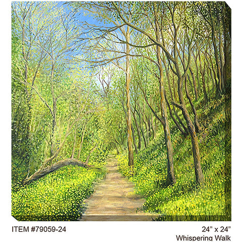 Whispering Walk Outdoor Canvas Art - Outdoor Art Pros