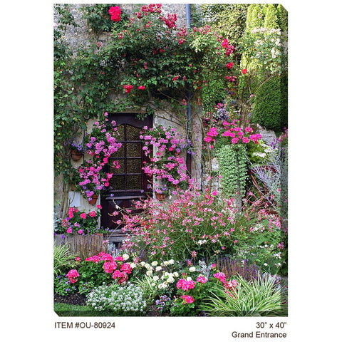 Grand Entrance Outdoor Canvas Art - Outdoor Art Pros