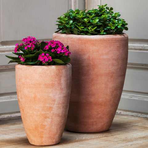 Abrielle Planter Set of 2 in Terra Cotta - Outdoor Art Pros