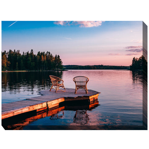 Alone Together Outdoor Canvas Art - Outdoor Art Pros