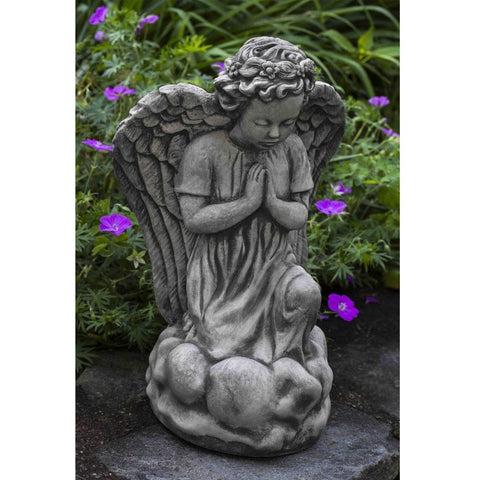 Angel's Prayer Garden Statue - Outdoor Art Pros