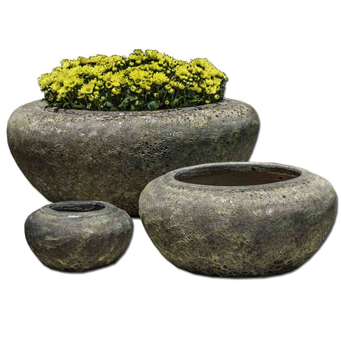 Ankara Bowl-Angkor Green Mist - Outdoor Art Pros