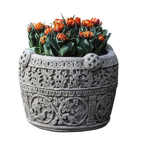Antique Celtic Garden Planter