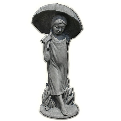 April Showers Cast Stone Garden Statue - Outdoor Art Pros