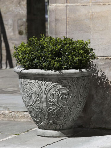 Arabesque Small Garden Planter - Outdoor Art Pros