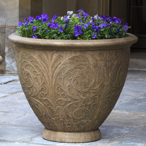Arabesque Large Garden Planter - Outdoor Art Pros