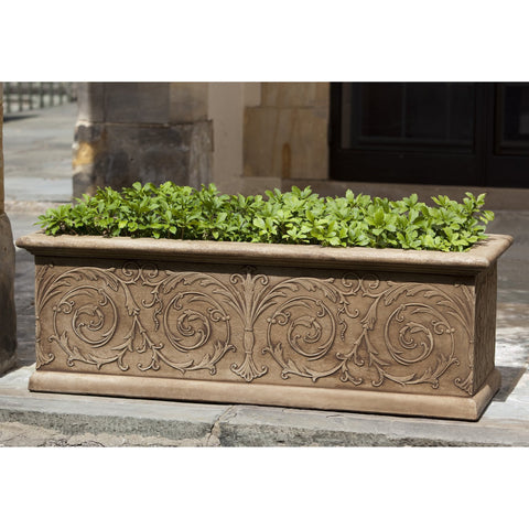 Arabesque Medium Window Box - Outdoor Art Pros