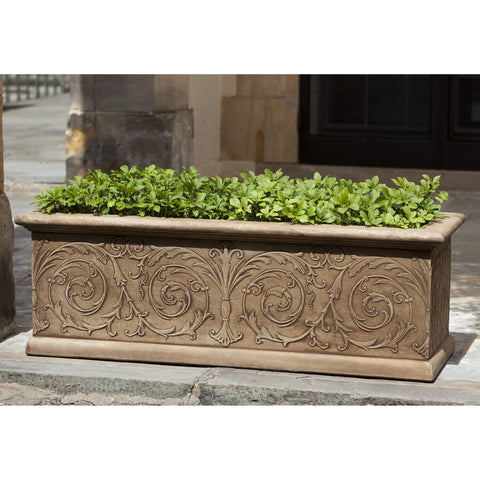 Arabesque Window Box - Large - Outdoor Art Pros