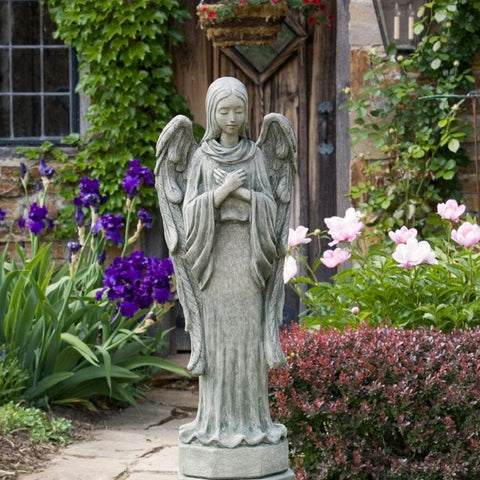 Autumn Angel Garden Statue - Outdoor Art Pros