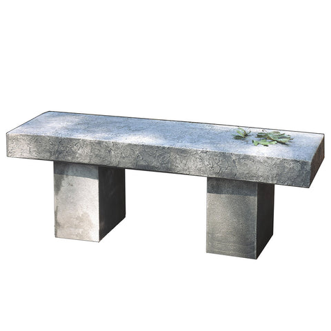 Autumn Leaves Garden Bench - Outdoor Art Pros