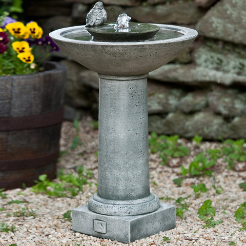 Aya Bird Water Fountain - Outdoor Art Pros