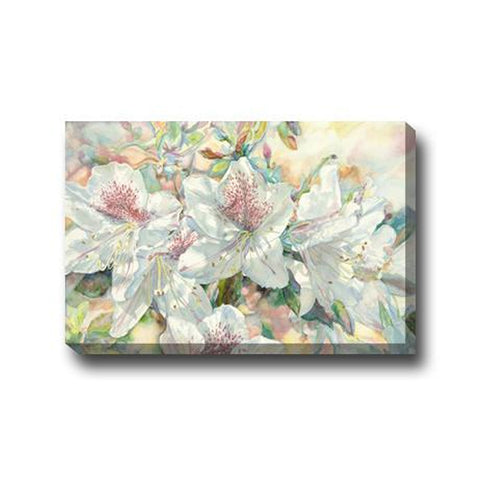 Azeleas#2 Outdoor Canvas Art - Outdoor Art Pros