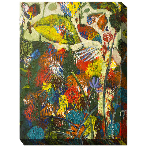 Bawdy Botanicals Outdoor Canvas Art - Outdoor Art Pros