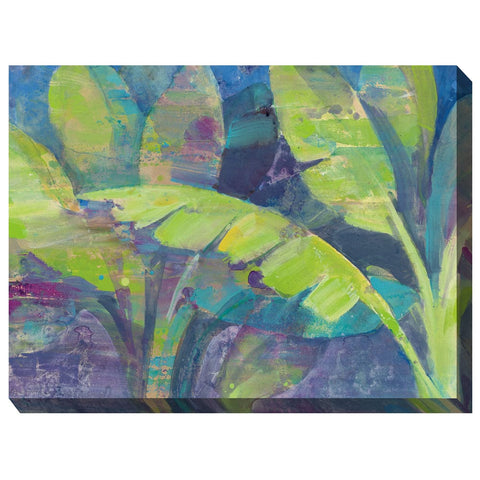 Bermuda Palm Outdoor Canvas Art - Outdoor Art Pros