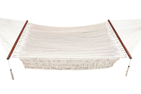 "Bliss 48"" Wide Island Rope Hammock - Outdoor Art Pros"