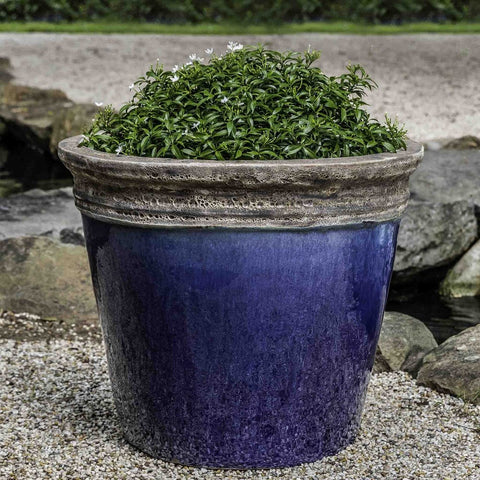Baia Planter in Beachcomber Blue - Outdoor Art Pros