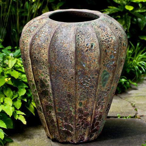 Balareas Jar in Angkor Green Mist - Outdoor Art Pros
