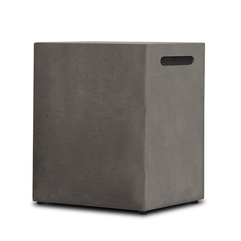 Baltic Propane Tank Cover in Glacier Gray - Outdoor Art Pros