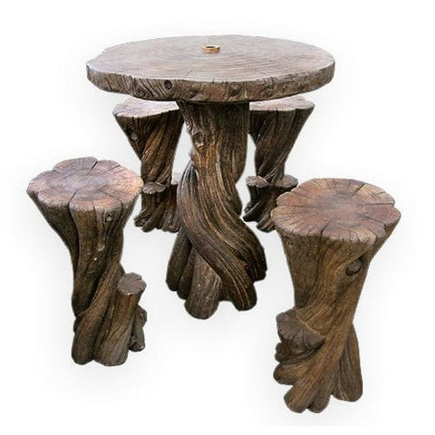 Banyan Hi-Top Outdoor Table Set - Outdoor Art Pros