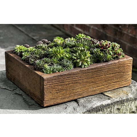 Barn Board Garden Planter - Medium - Planters - Outdoor Art Pros
