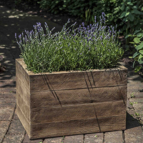Barn Board Garden Planter - Planters - Outdoor Art Pros