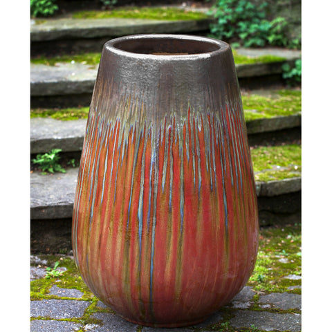 Barolo Planter in Bronze Garnet - Outdoor Art Pros