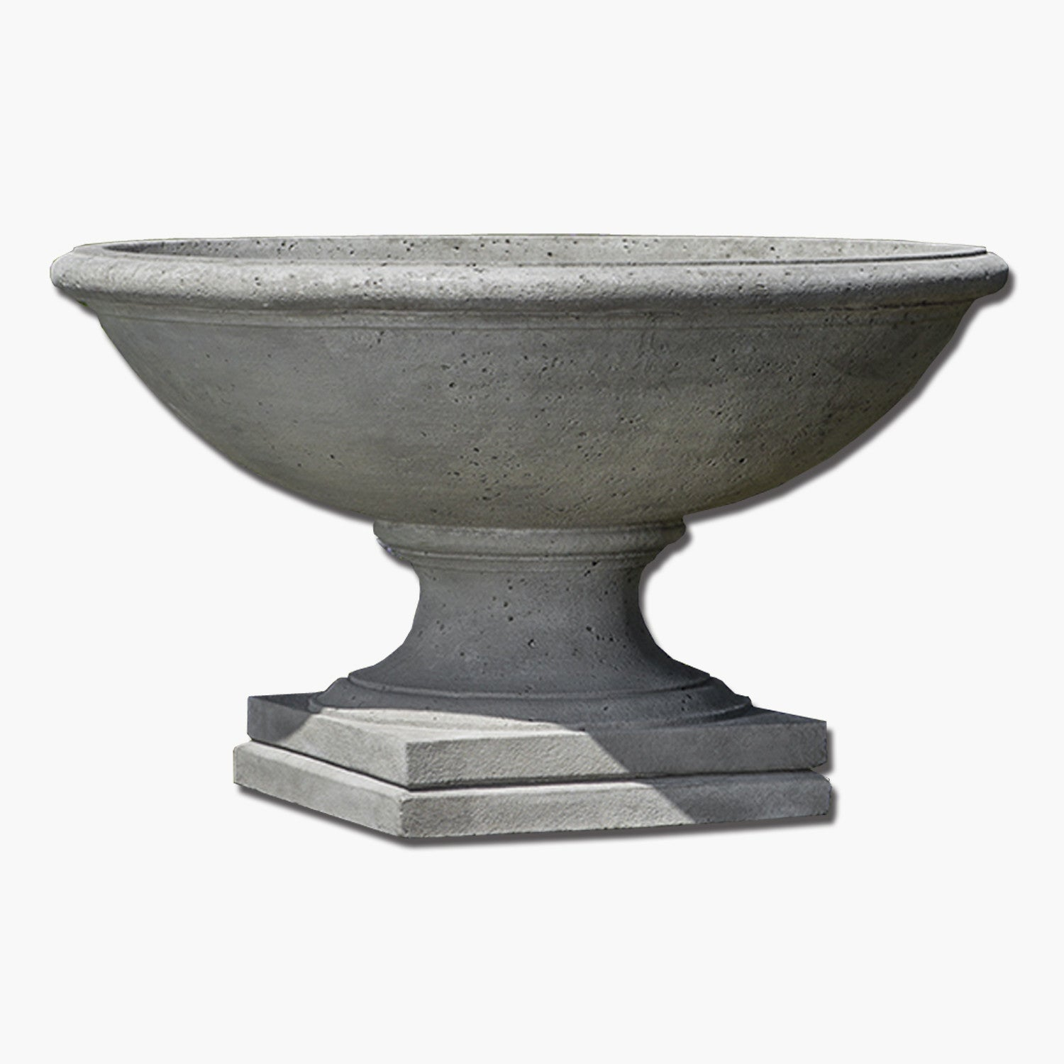 stone planters black planter cast on img urn fluted pedestal mpg charcoal itm entrance aged