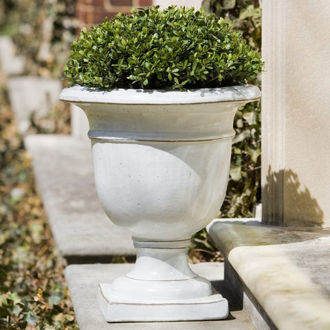 Beldon Urn in Antique White - Outdoor Art Pros