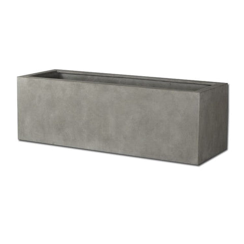 Big Box Planter in Concrete Lite® - Modular Lite - Outdoor Art Pros