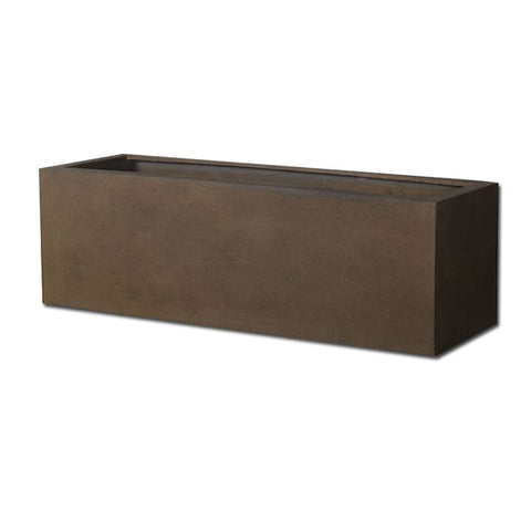 Big Box Planter in Rust Lite® - Modular Lite® - Outdoor Art Pros