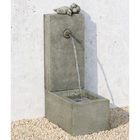 Bird Element Wall Water Fountain - Outdoor Art Pros