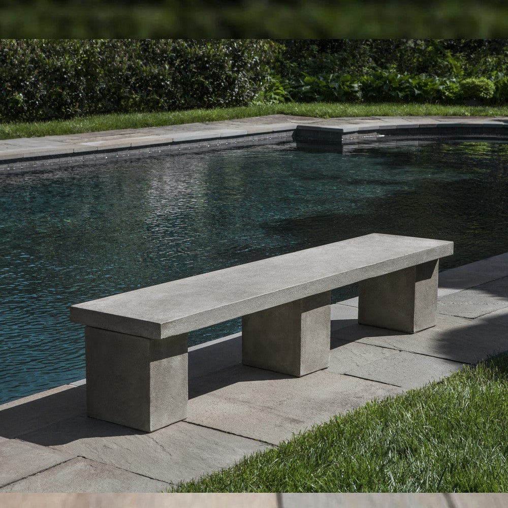 Biscayne Garden Bench - Outdoor Art Pros