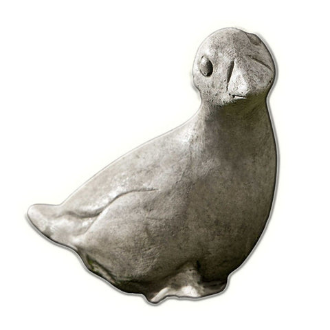 Bitsy The Gosling Cast Stone Garden Statue - Outdoor Art Pros