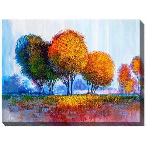 Bohemian Forest Outdoor Canvas Art  - Outdoor Art Pros