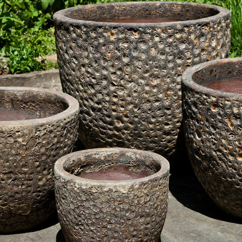 Bolivar Planter Set of 4 in Angkor - Outdoor Art Pros