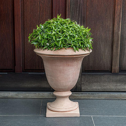 Bolzano Urn Planter in Terra Cotta - Outdoor Art Pros