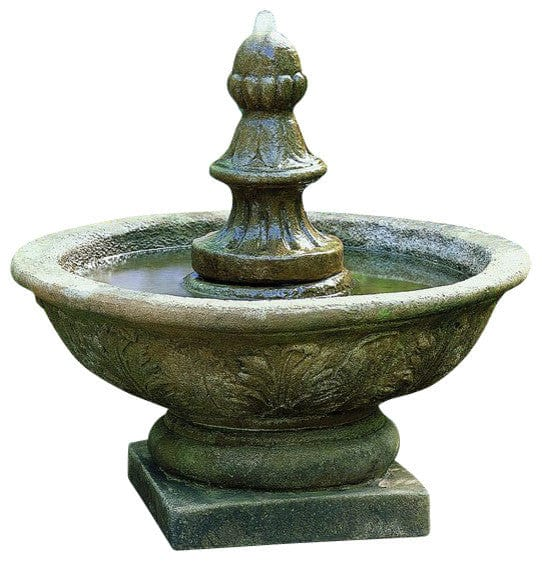 ... Bordine Finial Small Water Fountain   Outdoor Art Pros ...