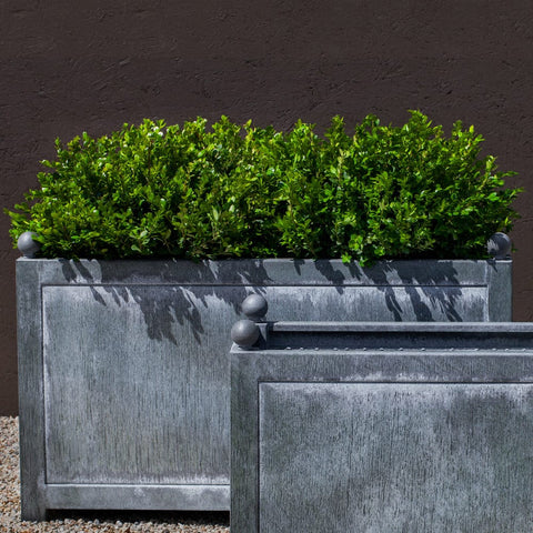 Box Hill Large Rectangle Planter - Outdoor Art Pros
