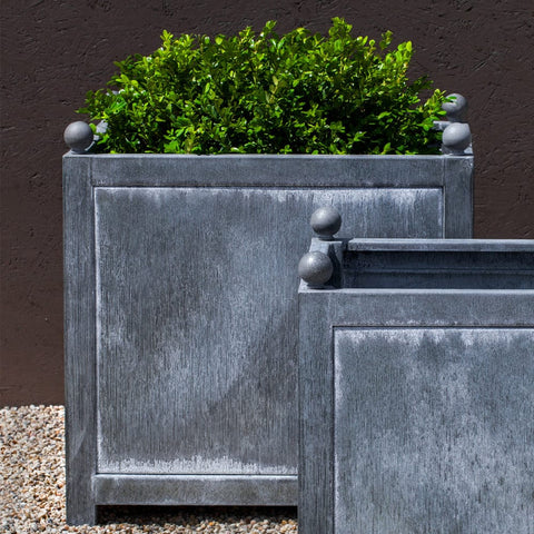 Box Hill Large Square Planter - Outdoor Art Pros