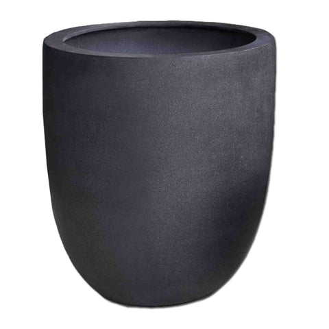 Bradford Extra Large Planter in Charcoal Premium Lite - Outdoor Art Pros