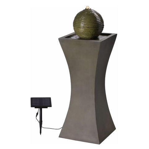 Bubble Outdoor Solar Fountain - Outdoor Art Pros