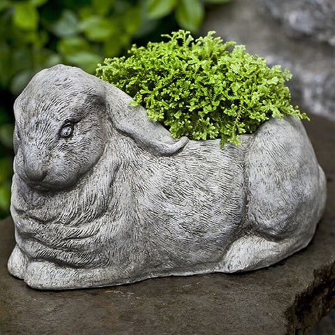 Bunny Garden Planter - Outdoor Art Pros